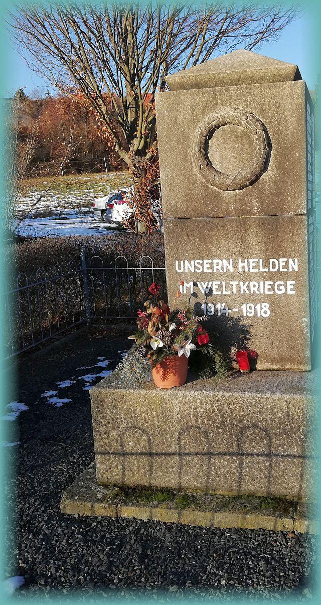 Erinnerungsstein an die Helden des Krieges