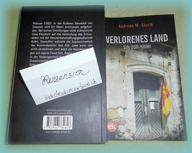 Buchvorstellung Verlorenes Land von Andreas M. Sturm