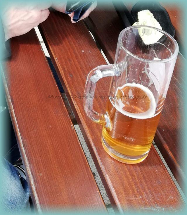 Bierchen im Dresdner Biergarten