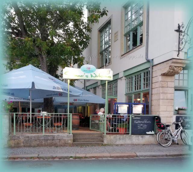 Volkshaus Laubegast Restaurant und Biergarten Sommers Wirtshaus